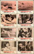 """Movie Posters:James Bond, From Russia with Love (United Artists, 1964). Very Fine-. Lobby Card Set of 8 (11"""" X 14"""").. ... (Total: 8 Items)"""