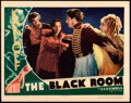 """Movie Posters:Horror, The Black Room (Columbia, 1935). Very Fine+. Lobby Card (11"""" X 14"""").. ..."""