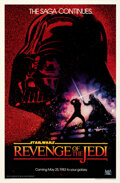 """Movie Posters:Science Fiction, Revenge of the Jedi (20th Century Fox, 1982). Rolled, Very Fine+. One Sheet (27"""" X 41"""") Advance Dated Style, Drew Struzan Ar..."""