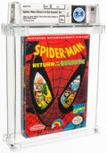 Video Games:Nintendo, Spider-Man Return of the Sinister Six - Wata 7.5 A+ Sealed...