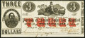 Obsoletes By State:Louisiana, (Edgard), LA- Parish of St. John the Baptist $3 Mar. 24, 1862 Extremely Fine-About Uncirculated.. ...