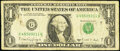 Small Size:Federal Reserve Notes, Fr. 1917-G $1 1988A Federal Reserve Note. Very Good-Fine, block G-Q, run 8, plate combo 3-4.. ...