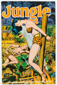 Jungle Comics #78 (Fiction House, 1946) Condition: FN/VF