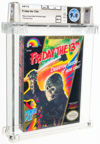 Friday the 13th - Wata 9.8 A++ Sealed [Oval SOQ TM], NES LJN 1989 USA