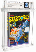 Video Games:Nintendo, Star Force - Wata 9.4 A Sealed [Rev-A, Round SOQ, Early Pr...