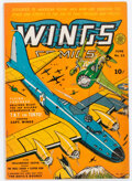 Golden Age (1938-1955):War, Wings Comics #22 (Fiction House, 1942) Condition: FN+....