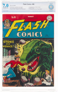 Flash Comics #86 (DC, 1947) CBCS FN/VF 7.0 Off-white to white pages