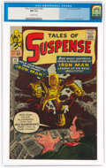 Silver Age (1956-1969):Superhero, Tales of Suspense #42 (Marvel, 1963) CGC NM 9.4 Off-white pages....