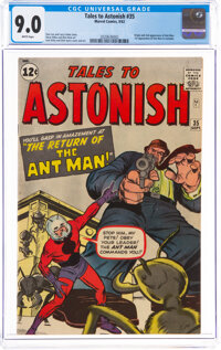 Tales to Astonish #35 (Marvel, 1962) CGC VF/NM 9.0 White pages