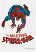 """Movie Posters:Action, The Amazing Spider-Man (Marvel Comics, 1974). Rolled, Very Fine. Poster (23"""" X 33""""). Action.. ..."""