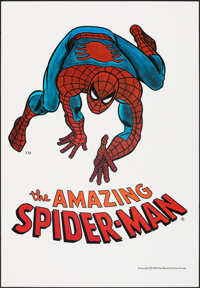 """The Amazing Spider-Man (Marvel Comics, 1974). Rolled, Very Fine. Poster (23"""" X 33""""). Action"""