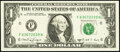 Small Size:Federal Reserve Notes, Fr. 1917-F $1 1988A Web Federal Reserve Note. Extremely Fine-About Uncirculated, block F-N, run 10, plate combo 4-4.. ...