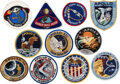 Explorers:Space Exploration, Apollo 7 through Apollo 17: Complete Set of Embroidered Mission Insignia Patches Directly from the Estate of NASA Legend Chris...