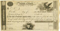United States - Act of June 30, 1812 $100 5-2/5% Treasury Note. Hessler X69A, Fr. TN-2. Unsigned Remainder. PMG About Un...