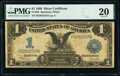Large Size:Silver Certificates, Fr. 236 $1 1899 Silver Certificate PMG Very Fine 20.. ...