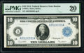 Large Size:Federal Reserve Notes, Fr. 907a $10 1914 Federal Reserve Note PMG Very Fine 20.. ...