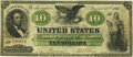 Large Size:Demand Notes, Fr. 9 $10 1861 Demand Note PMG Very Fine 20.. ...