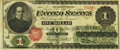 Fr. 16a $1 1862 Legal Tender PMG Extremely Fine 40