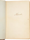 Autographs, Autograph Album Compiled by John W. Mix and Spanning the Years of the Civil War Up Through the Early 1900s....
