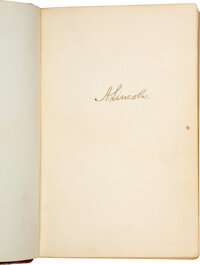 Autograph Album Compiled by John W. Mix and Spanning the Years of the Civil War Up Through the Early 1900s