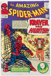 The Amazing Spider-Man #15 (Marvel, 1964) Condition: GD/VG
