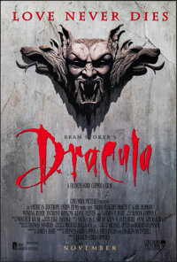 "Bram Stoker's Dracula (Columbia, 1992). Rolled, Very Fine+. One Sheet (26.75"" X 39.75"") SS Advance. Horror..."