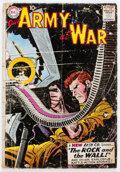 Silver Age (1956-1969):War, Our Army at War #83 (DC, 1959) Condition: FR....