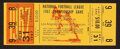 Football Collectibles:Tickets, 1967 NFL Championship Game Phantom Ticket (Los Angeles)....