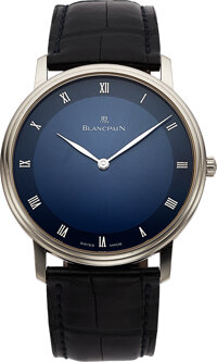 Blancpain, Very Fine White Gold Villeret Automatic, circa 2014
