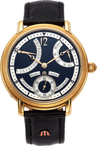 Maurice Lacroix, Masterpiece Collection Calendrier Retrograde, 18k Gold, MP 6368
