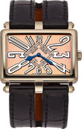 """Timepieces:Wristwatch, Roger Dubuis, 18k White Gold """"Too Much"""" Ref. T26 18 0, No. 6/28. ..."""