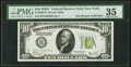 Fr. 2003-B $10 1928C Federal Reserve Note. PMG Choice Very Fine 35