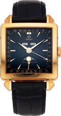 """Timepieces:Wristwatch, Omega, 18k Pink Gold """"Cosmic"""" Watch From The Museum Collection, Series Two, Ref 1951, 0442/1951. ..."""