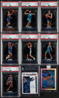Basketball Cards:Lots, 2019-20 Panini Encased, Prizm and One Basketball Collection (9)....