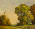 Paintings, Robert William Wood (American, 1889-1979). Texas in November. Oil on canvas. 25 x 30 inches (63.5 x ...