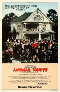 """Animal House (Universal, 1978). Rolled, Very Fine-. One Sheet (27"""" X 41"""") Advance"""