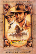 """Movie Posters:Action, Indiana Jones and the Last Crusade (Paramount, 1989). Rolled, Very Fine. One Sheet (27"""" X 40"""") SS Advance, Style A, Drew Str..."""