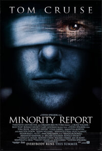 """Minority Report & Other Lot (20th Century Fox, 2002). Rolled, Overall: Very Fine. One Sheets (2) (27"""" X 40""""..."""