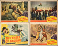 """Movie Posters:Fantasy, The Thief of Bagdad (United Artists, 1940). Overall: Fine+. Title Lobby Card & Lobby Cards (3) (11"""" X 14""""). Fantasy.. ... (Total: 4 Items)"""