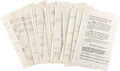 Autographs:U.S. Presidents, Franklin D. Roosevelt Carbon Copy of 1941 Last Will and Testament. ...