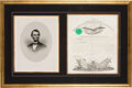 Autographs:U.S. Presidents, Abraham Lincoln Military Appointment Signed. ...