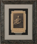 Autographs:U.S. Presidents, Theodore Roosevelt Photograph Inscribed and Signed as President. ...