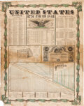 Miscellaneous:Broadside, Humphrey Phelps United States at One View 1776 to 1845. ...