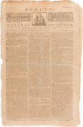 Miscellaneous:Newspaper, [Continental Congress Recommends Establishing New Government Throughout All United Colonies]. The Pennsylvania Packet...