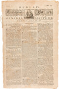 Miscellaneous:Newspaper, [John Hancock's Resolution Directing Colonies to Form State Governments]. The Pennsylvania Packet, May 20, 1776. ...