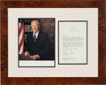 """Autographs:U.S. Presidents, Gerald Ford Typed Letter Signed. One page, 5.5"""" x..."""