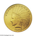 Proof Indian Eagles: , 1908 $10 Motto PR66 NGC. Of the 116 proof Tens struck in ...
