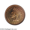Proof Indian Cents: , 1905 1C PR66 Red PCGS. Spectacular orange and red ...