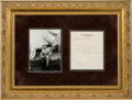 Autographs:U.S. Presidents, Theodore Roosevelt Typed Letter Signed. One page,...