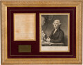 Autographs:U.S. Presidents, Thomas Jefferson Autograph Letter Signed While Secretary of State. ...